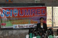 Rashmi Priya conducting training at JCI Umred