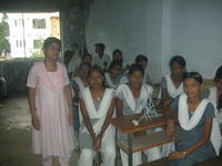 Myself with Students participating in activity during Training session