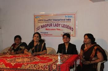 JCI Nagpur Lady Legend