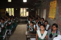 Students of Ashok Kanya Vidyalaya
