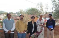 JCI Umred team, Deshmukh madam and Rashmi Priya