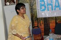 Rashmi Priya giving Training on EPS
