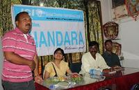 Past ZVP with Bhandara president, trainer & Secretary on Dais