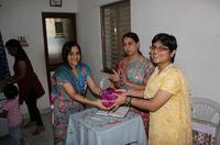Rashmi Priya receiving Memento